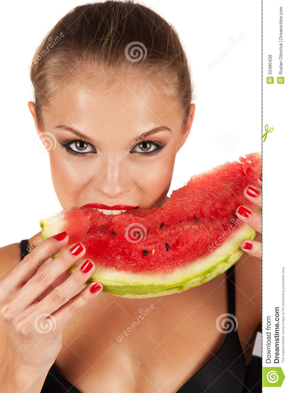 Beautiful Eat In Kitchens: Watermelon Royalty Free Stock Images