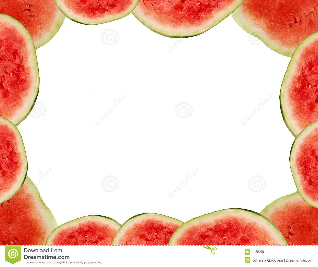 Watermelon frame
