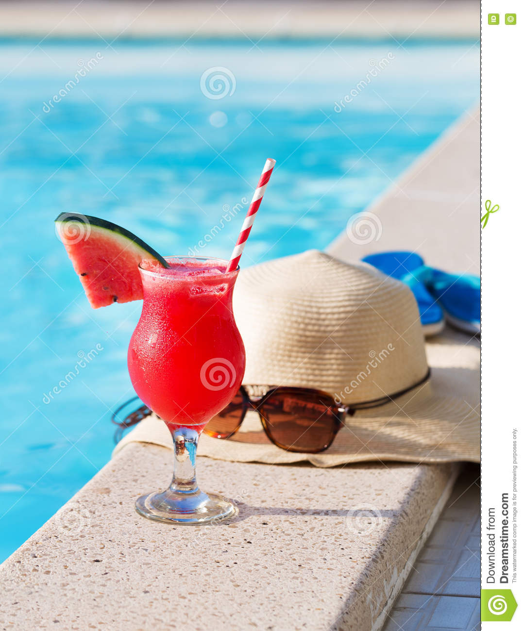 Sun With Drink Glasses And Hat Cartoon Vector 25462241