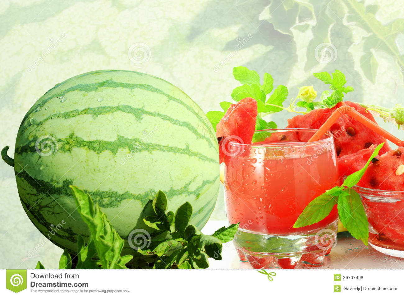 how to make juice of watermelon