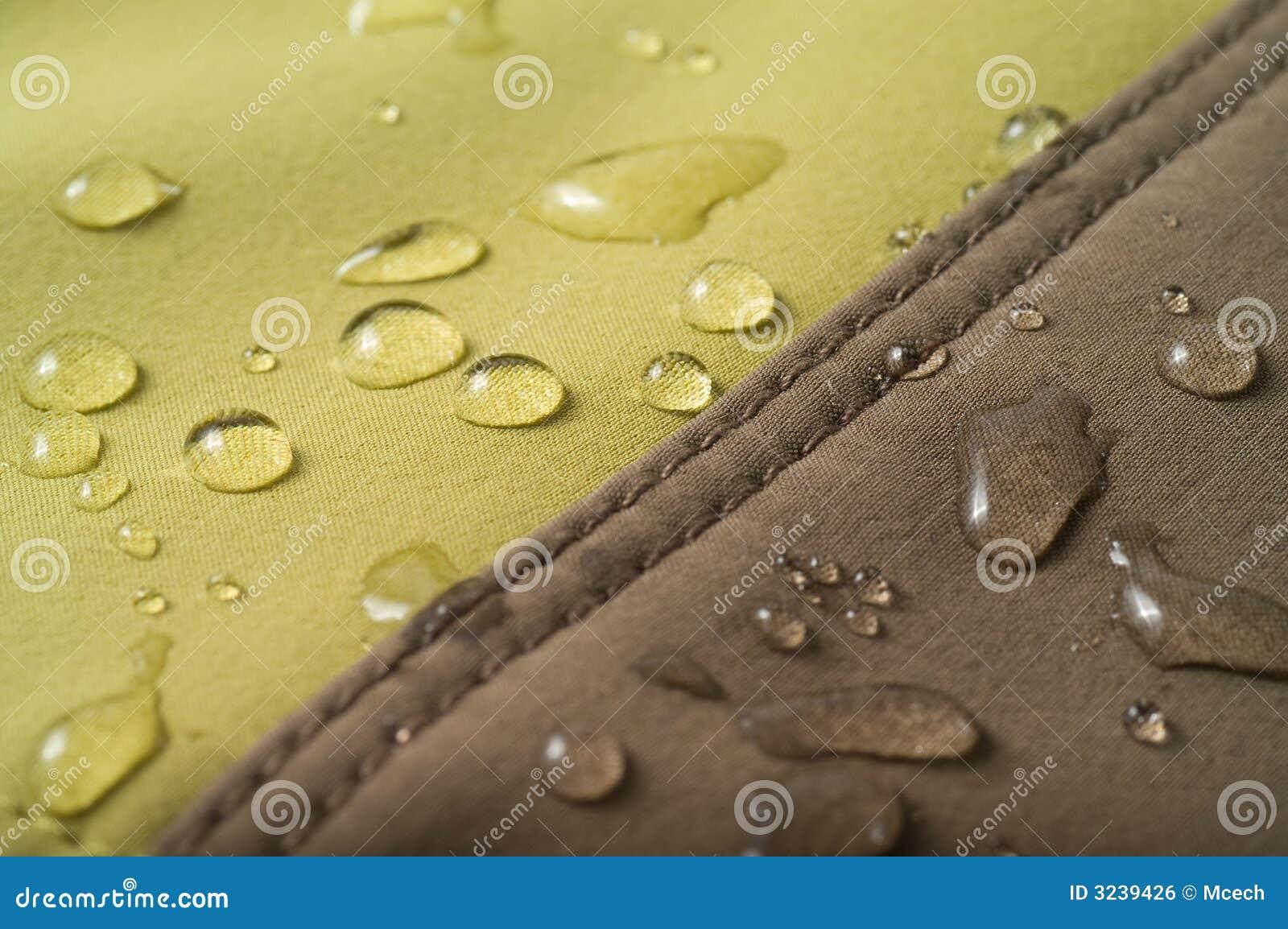 The waterproof fabric
