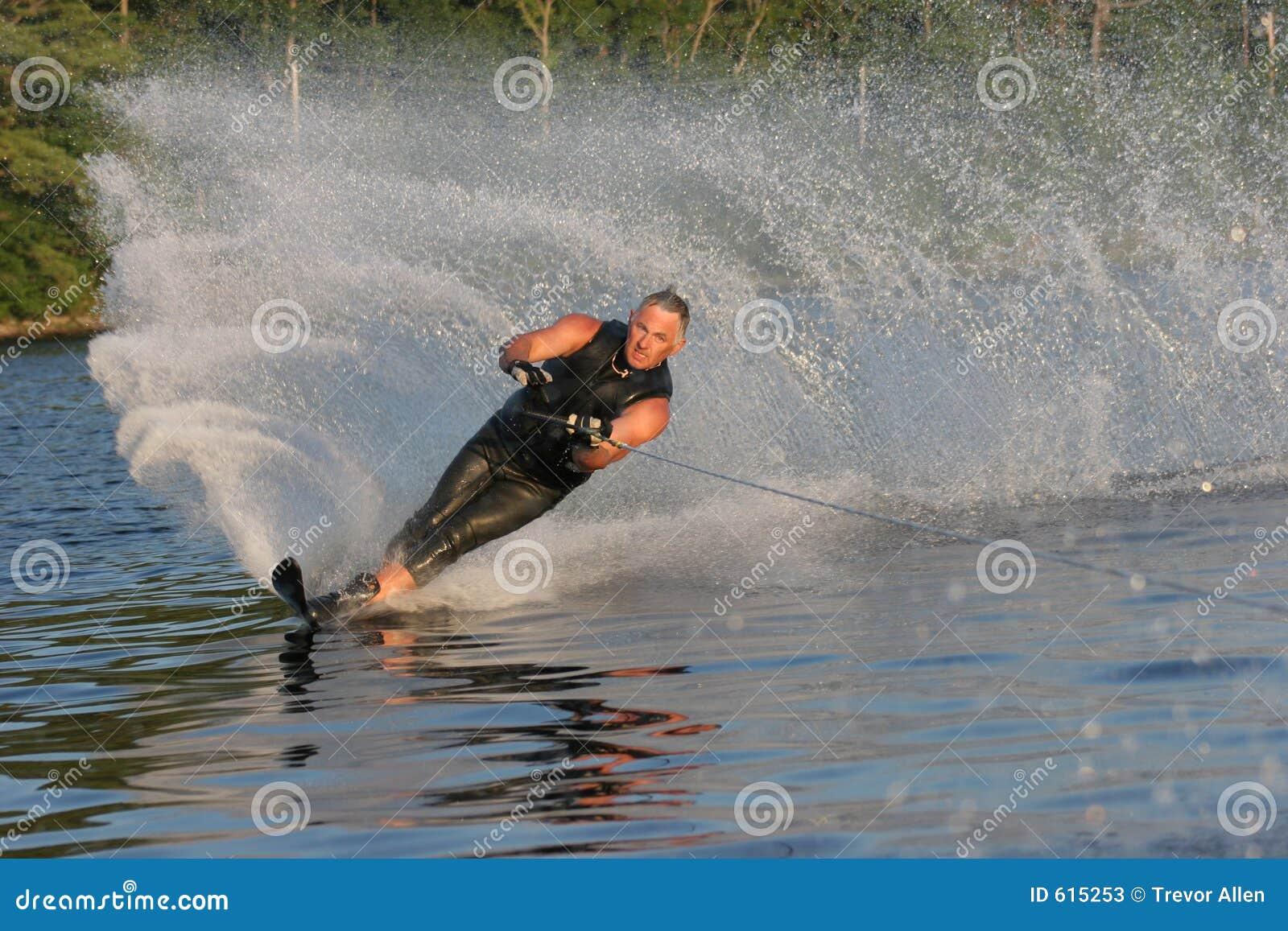 Waterskiing in the Summer