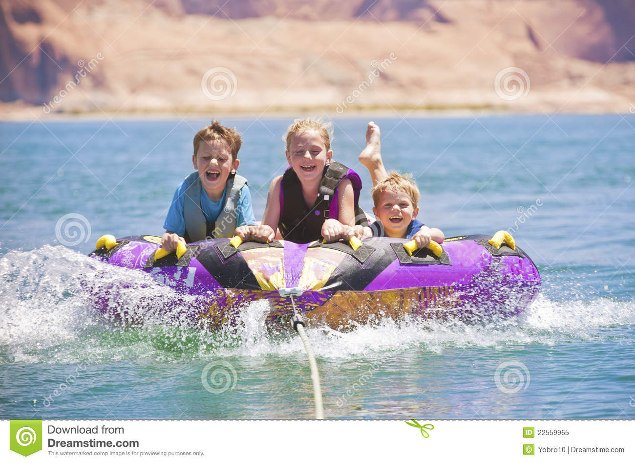 Watersports Fun - Kids Tubing