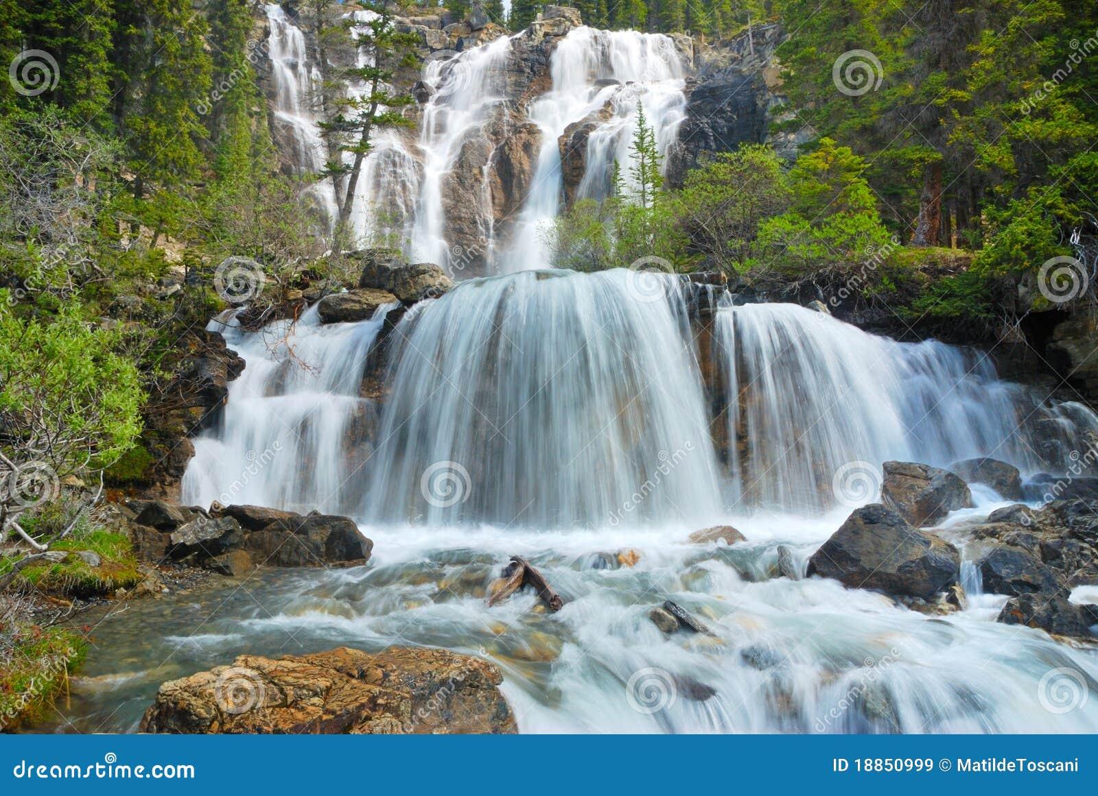 Waterval in Rockies