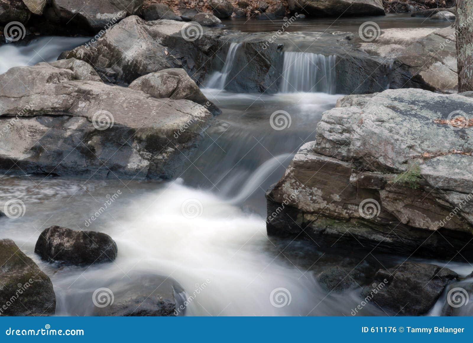 Watervallen in NH 3