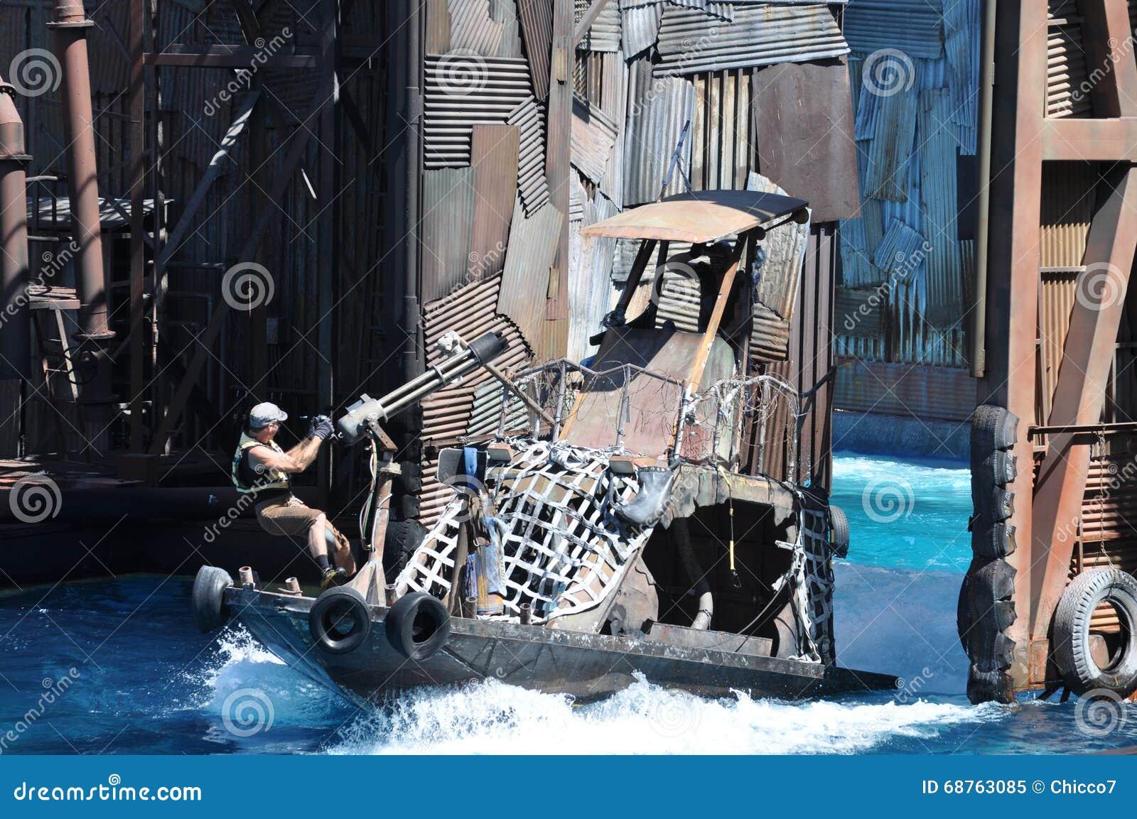 Waterworld show at Universal Studios Holliwood