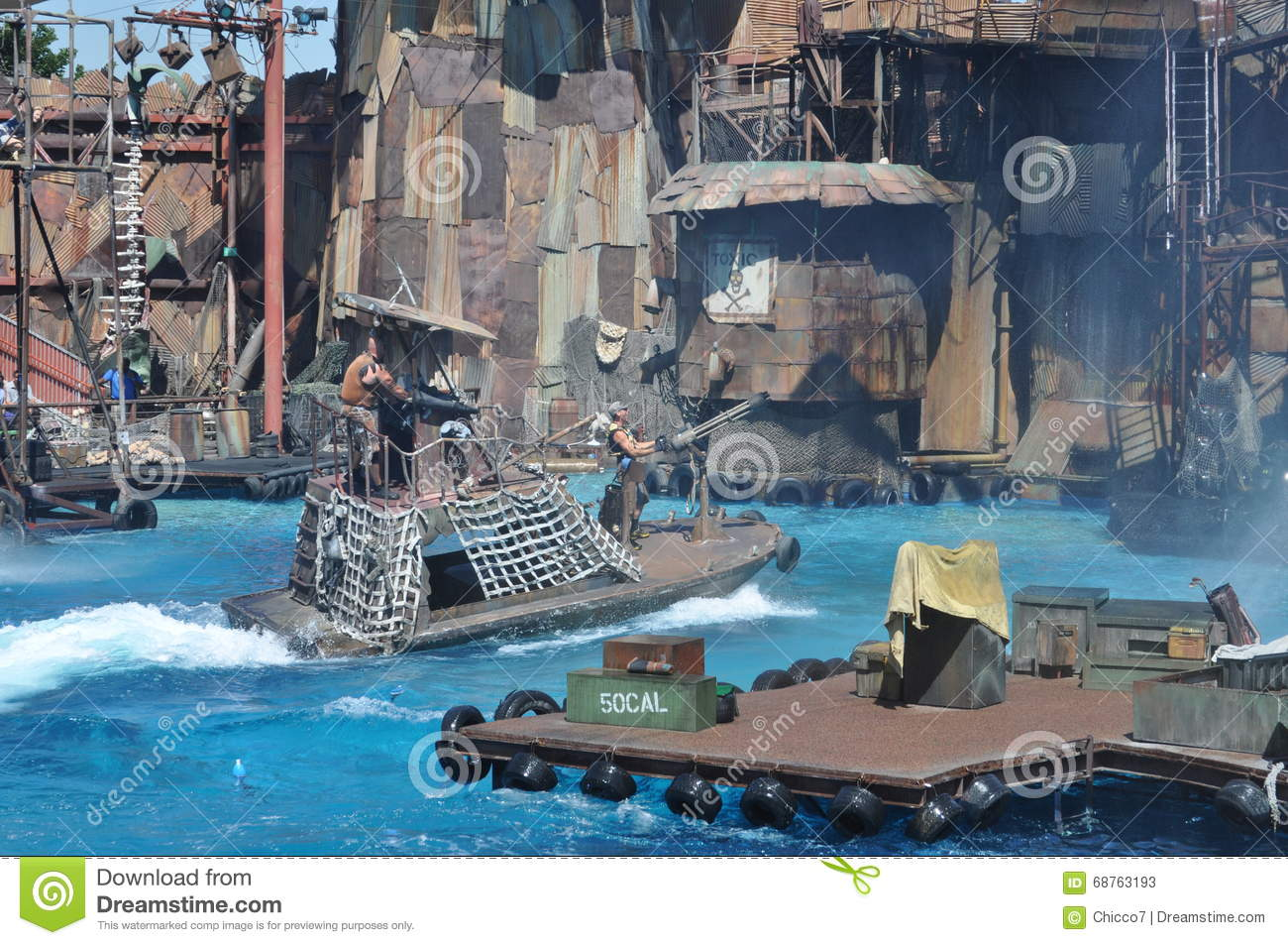 Waterworld show at Universal Studios Holliwood