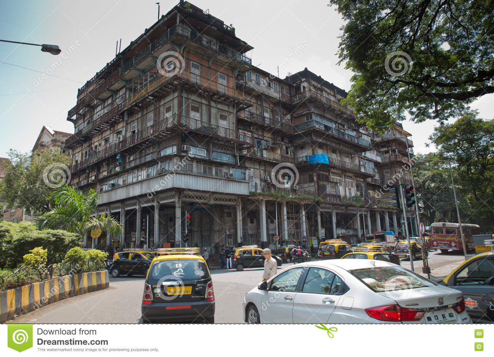 Watson Hotel Mumbai - Esplanade Mansion Editorial Photo