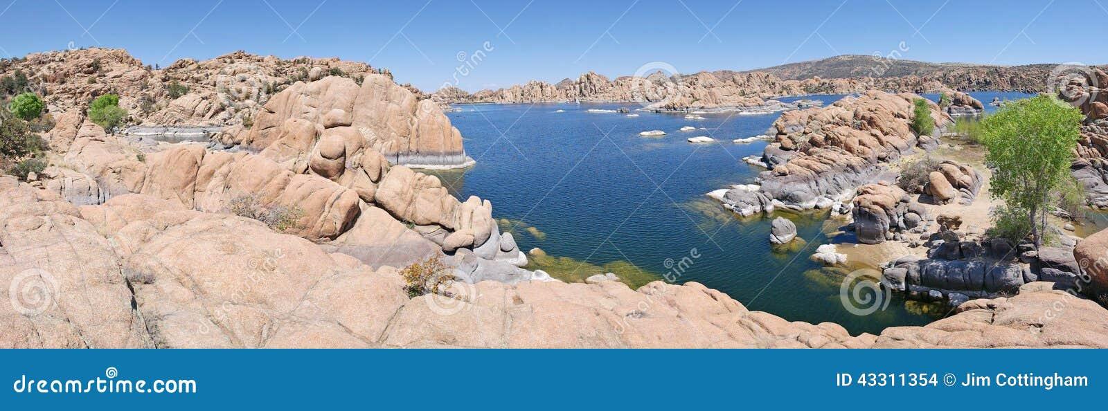 Watson Lake, Prescott, AZ Panorama