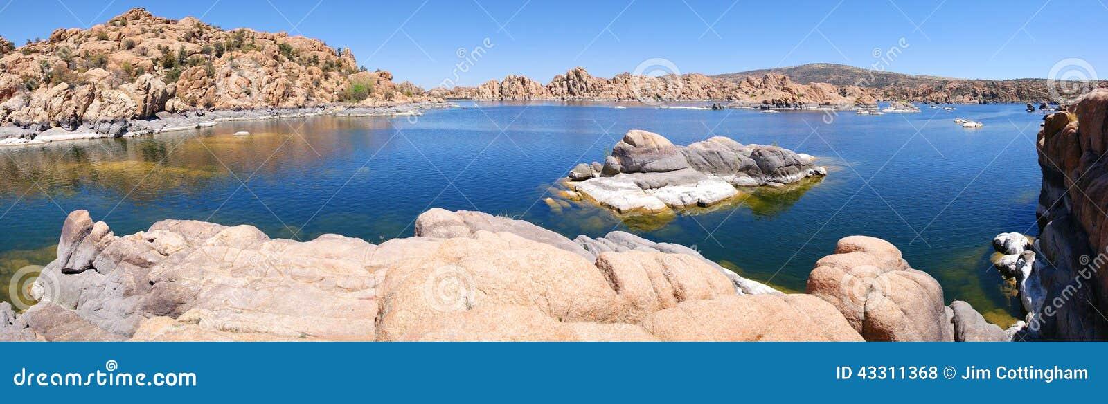 Watson Lake, Prescott, panorama de AZ