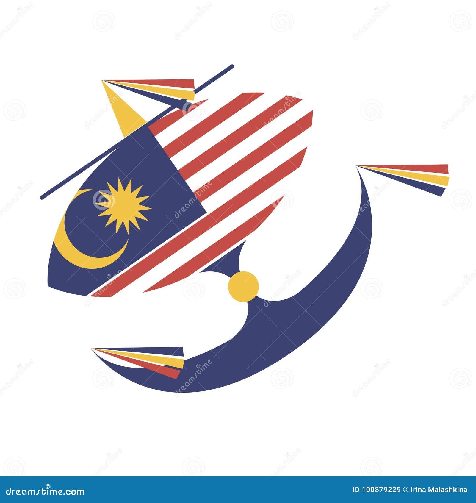 Wau bulan malaysian stock vector illustration of national 100879229 wau bulan malaysian biocorpaavc