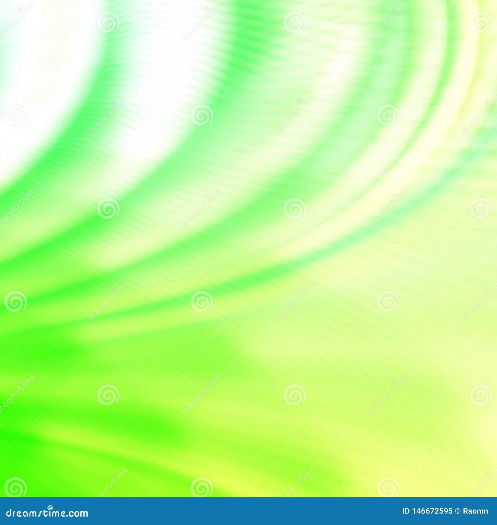 Green Art Abstract Wallpaper Backdrop Stock Illustration