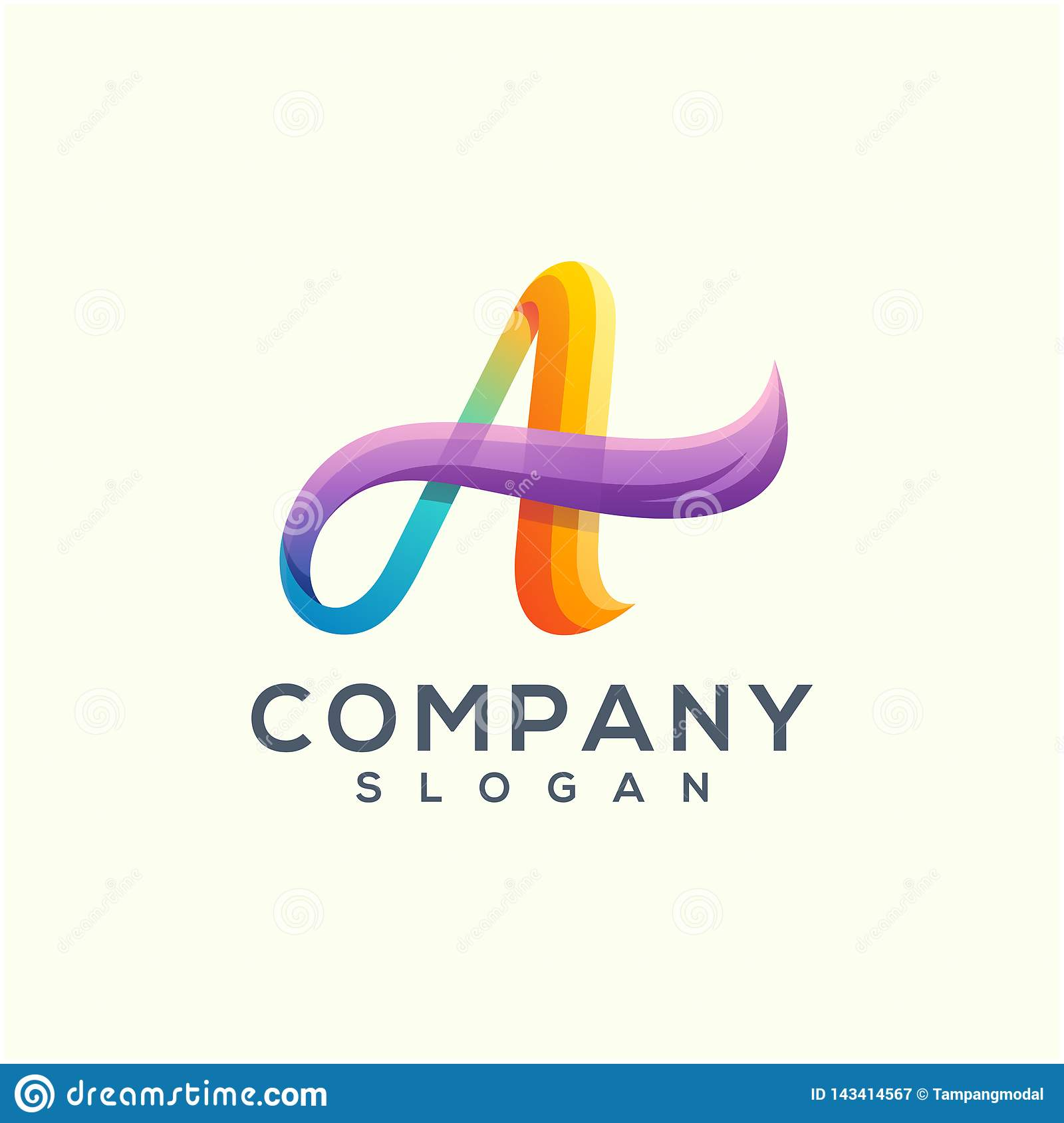 Wave logo design read to use