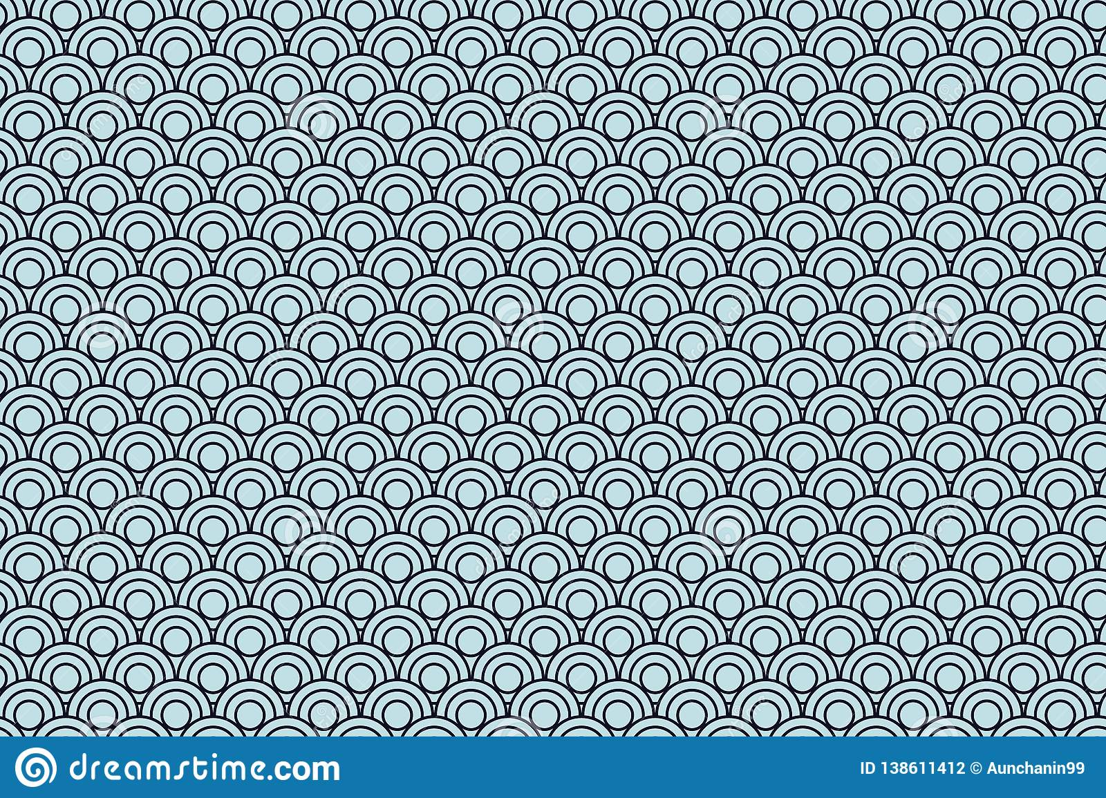 Wave pattern background