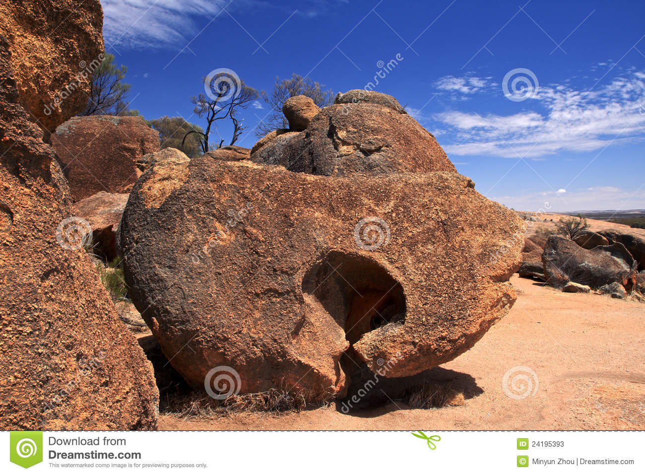 Wave Rock In Western Australia Stock Photos Image 24195393