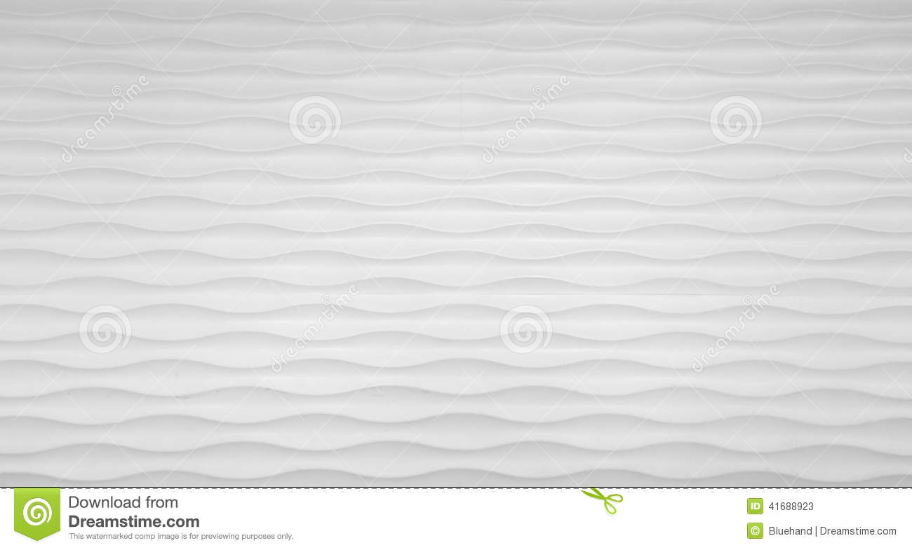 wave texture wall in white stock photo