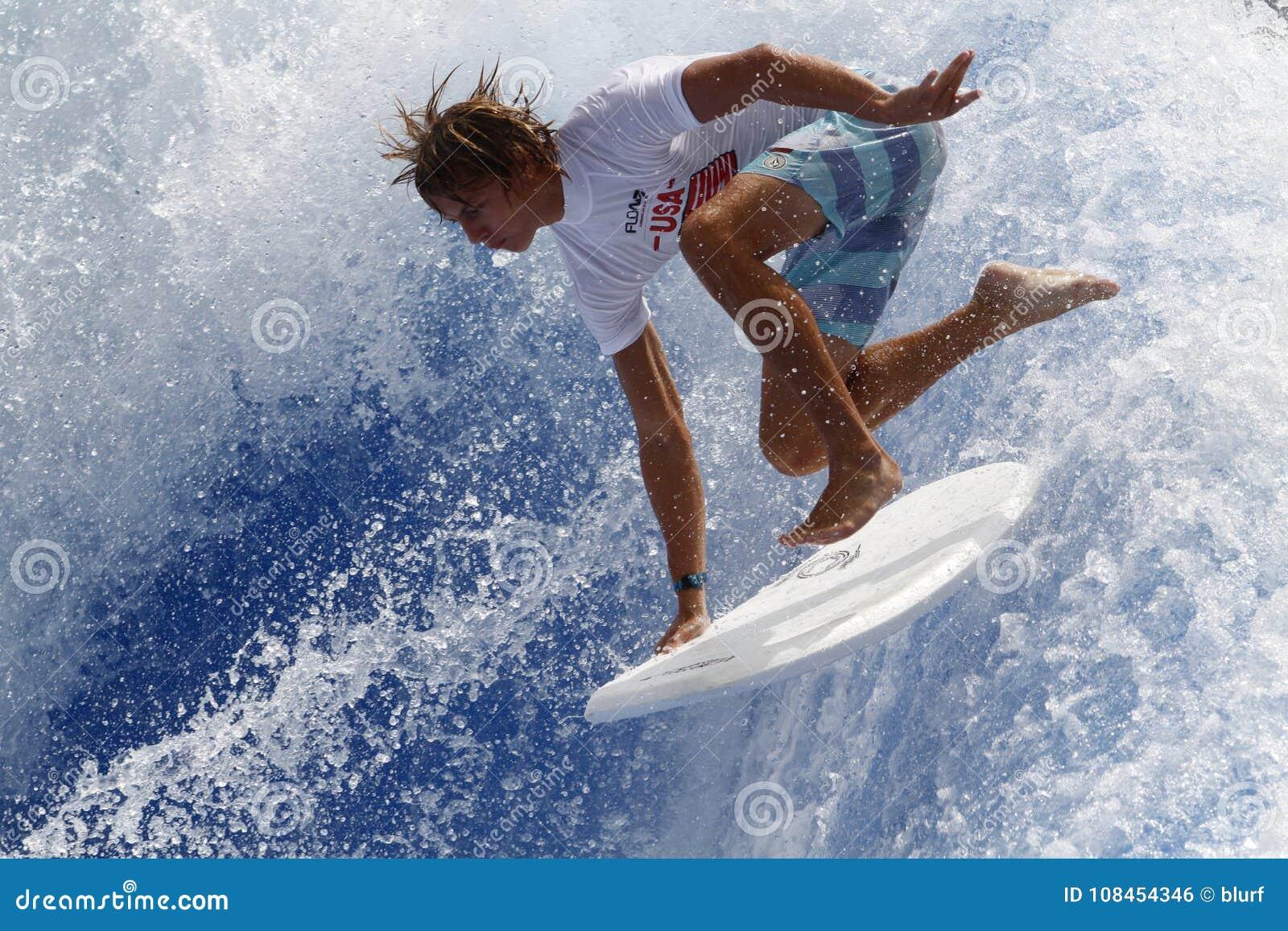 Download Waveboard World Championship Mallorca Editorial Photo - Image of riding, healthy: 108454346