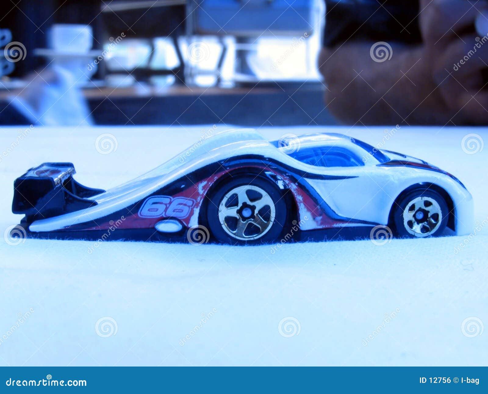 Waved toy car
