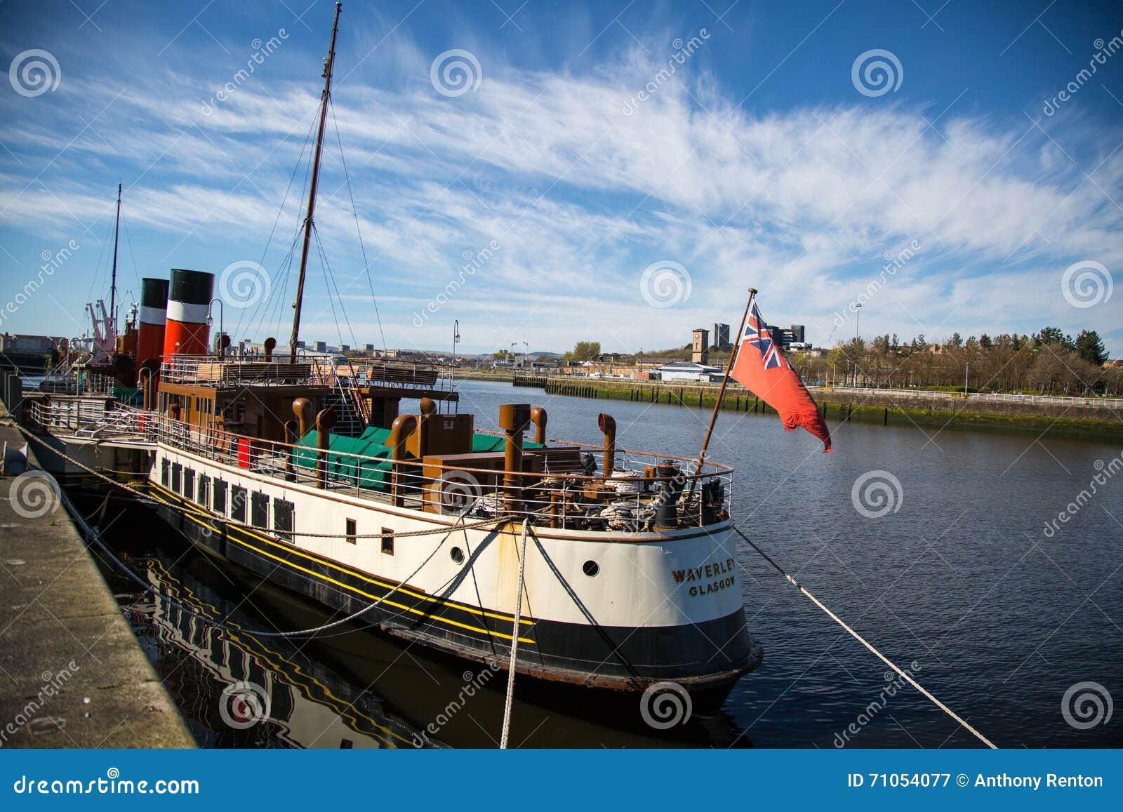 Waverley στο Clydeside, Γλασκώβη, Σκωτία, UK