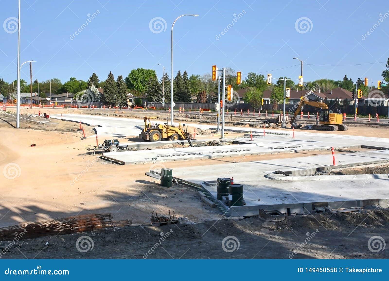 Waverley przej?cia podziemnego Uliczna budowa Maj 2019
