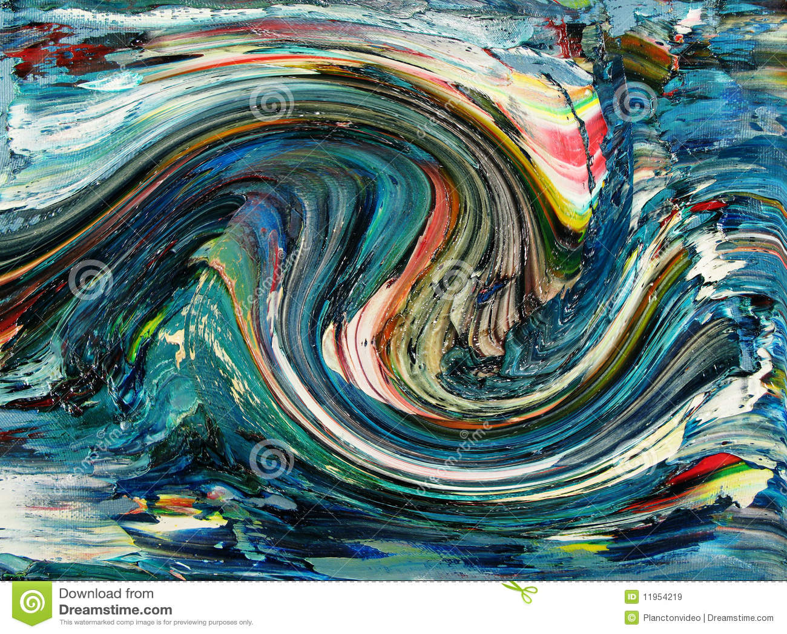 waves stock illustration illustration of drawing paint 11954219