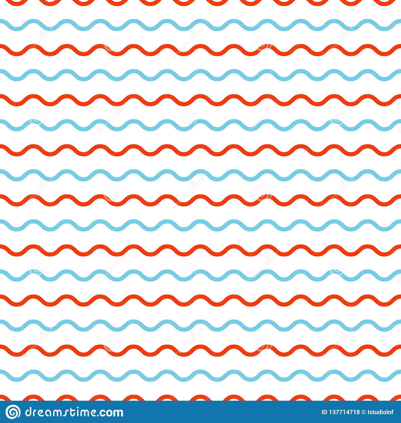 Waves pattern. Geometric simple background