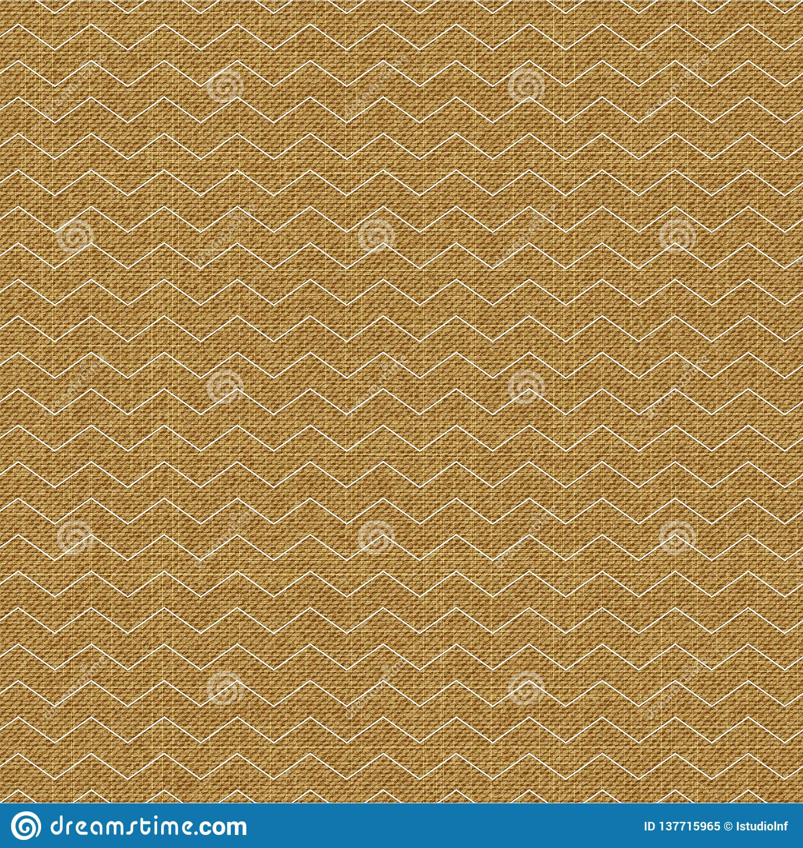 Waves pattern on textile, abstract geometric background