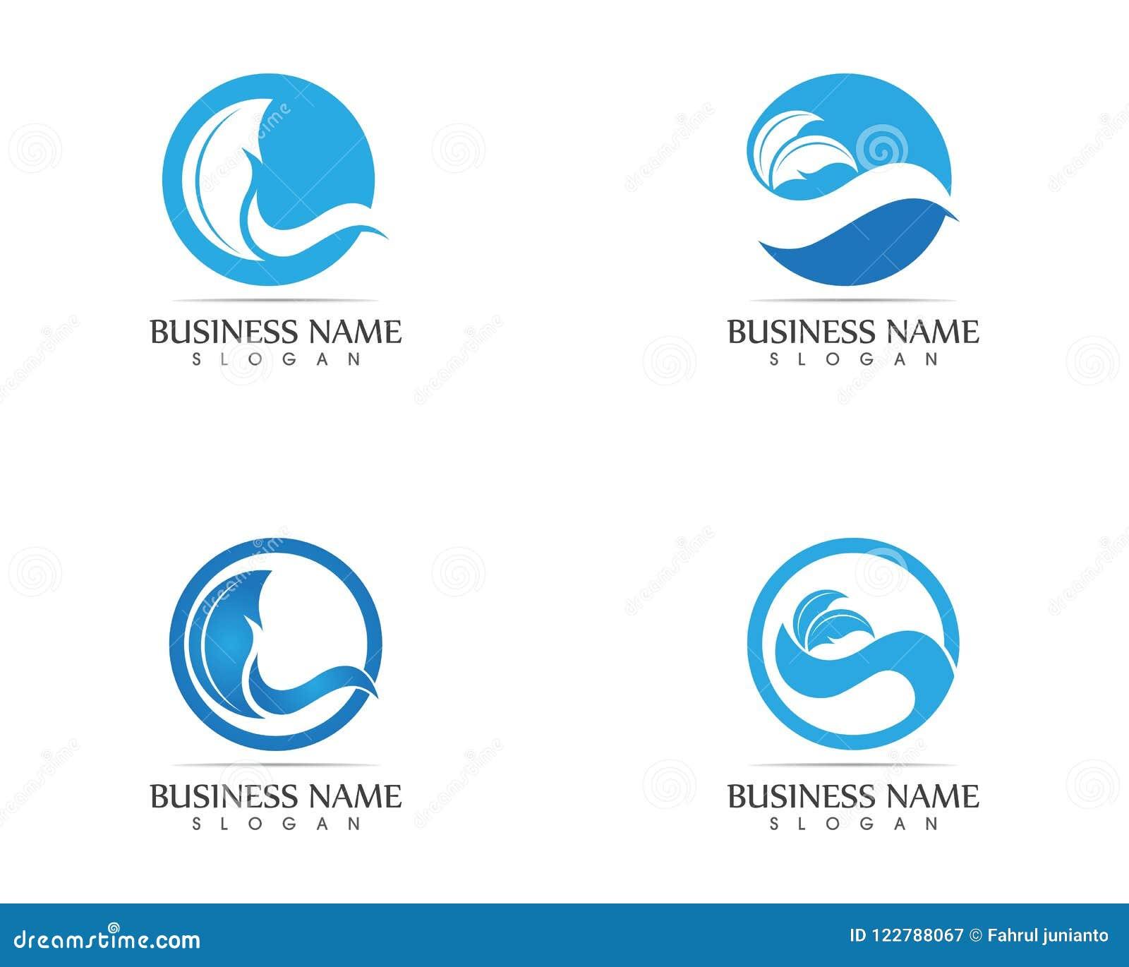 waves of sea or ocean waves blue water splash and gale vector