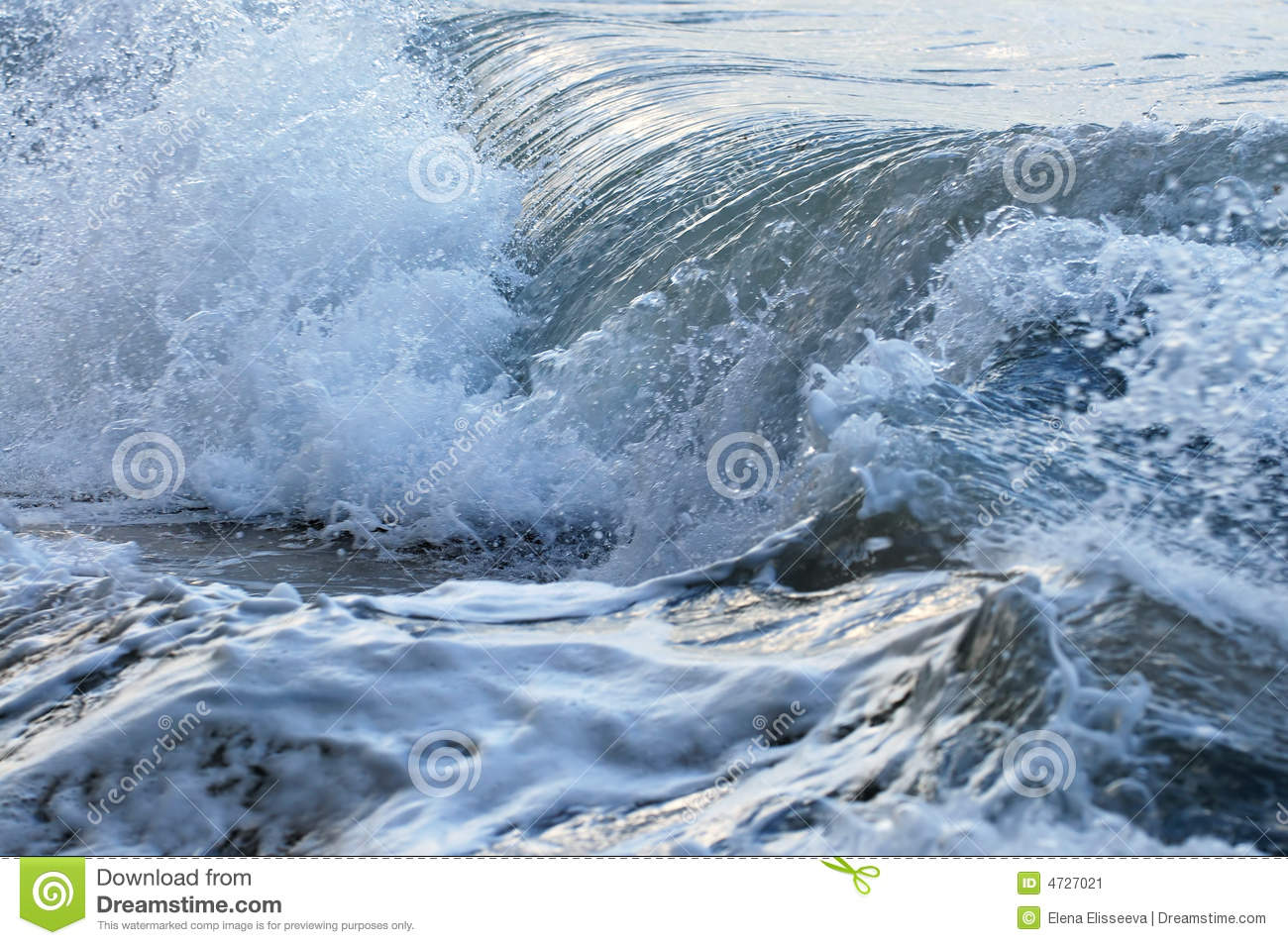 Download Waves in stormy ocean stock image. Image of natural, environmental - 4727021
