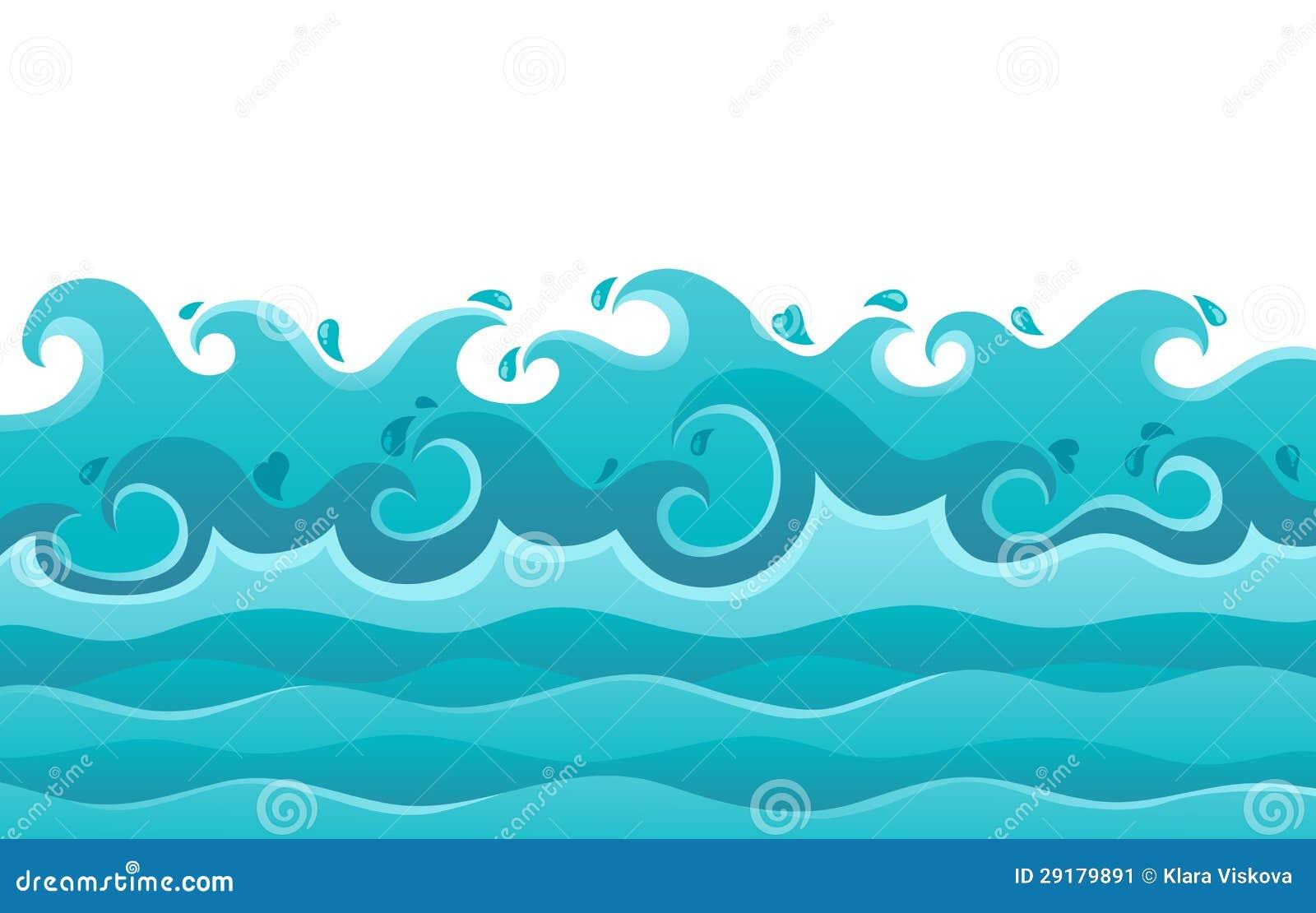 Waves theme image