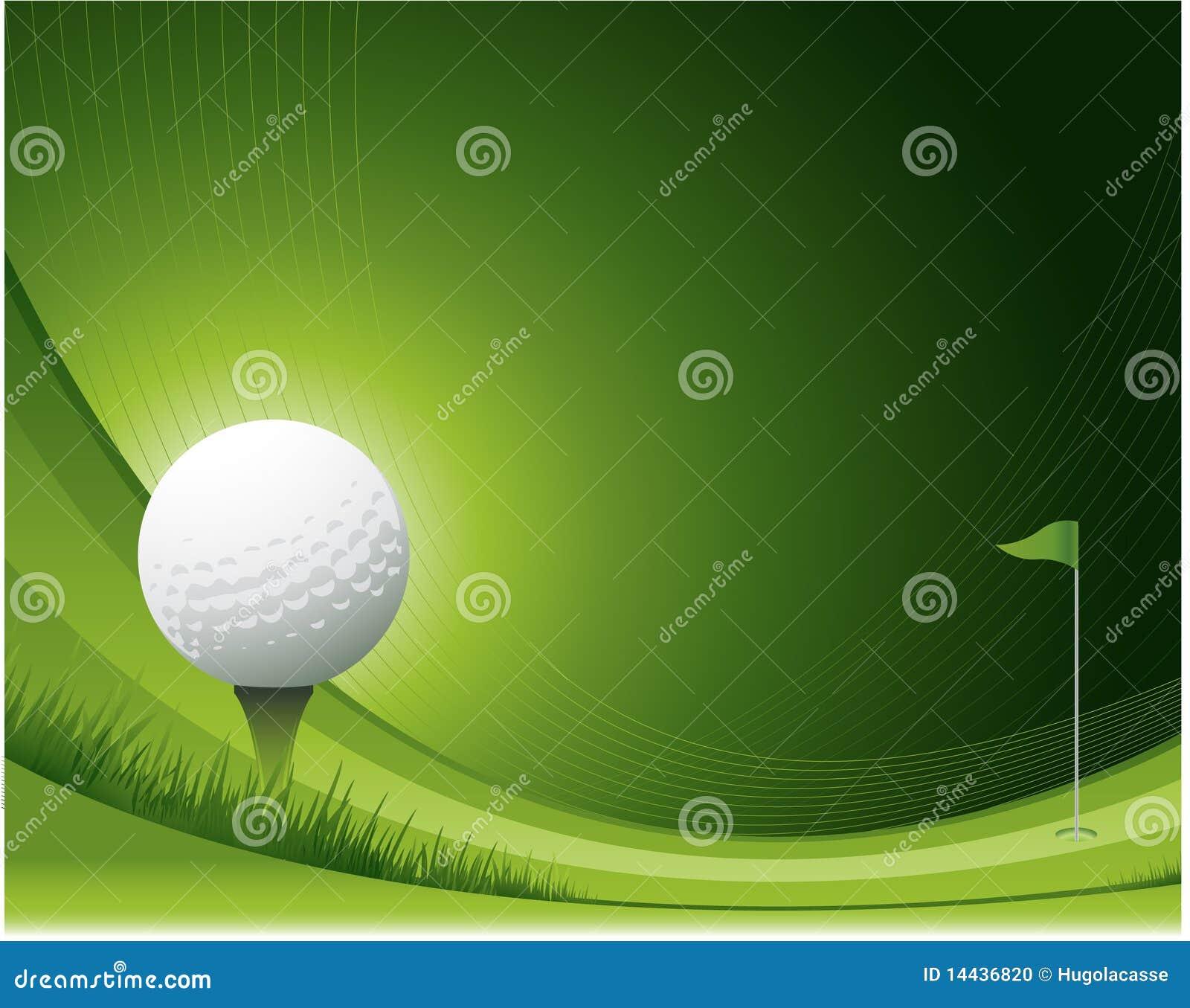 Waving Golf Design Stock Photo Image 14436820