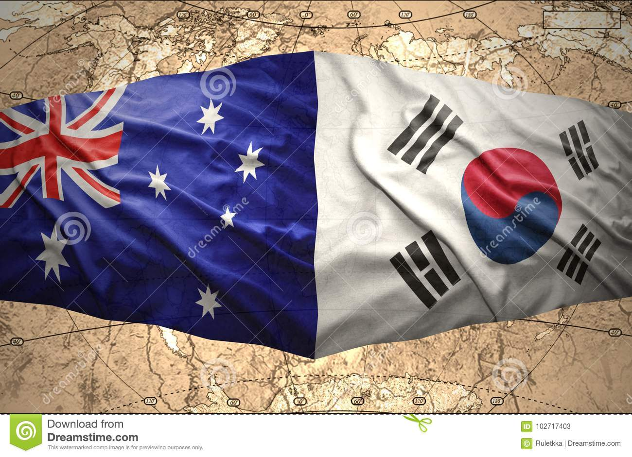 South Korea and Australia stock illustration. Illustration of ... on korea and vietnam, korea and sweden, korea and asia map, korea and russia map, korea and ireland, korea and cambodia, korea and world map, korea and japan map, korea and germany, korea and malaysia map, korea and taiwan map, korea and china map, korea and united states map,