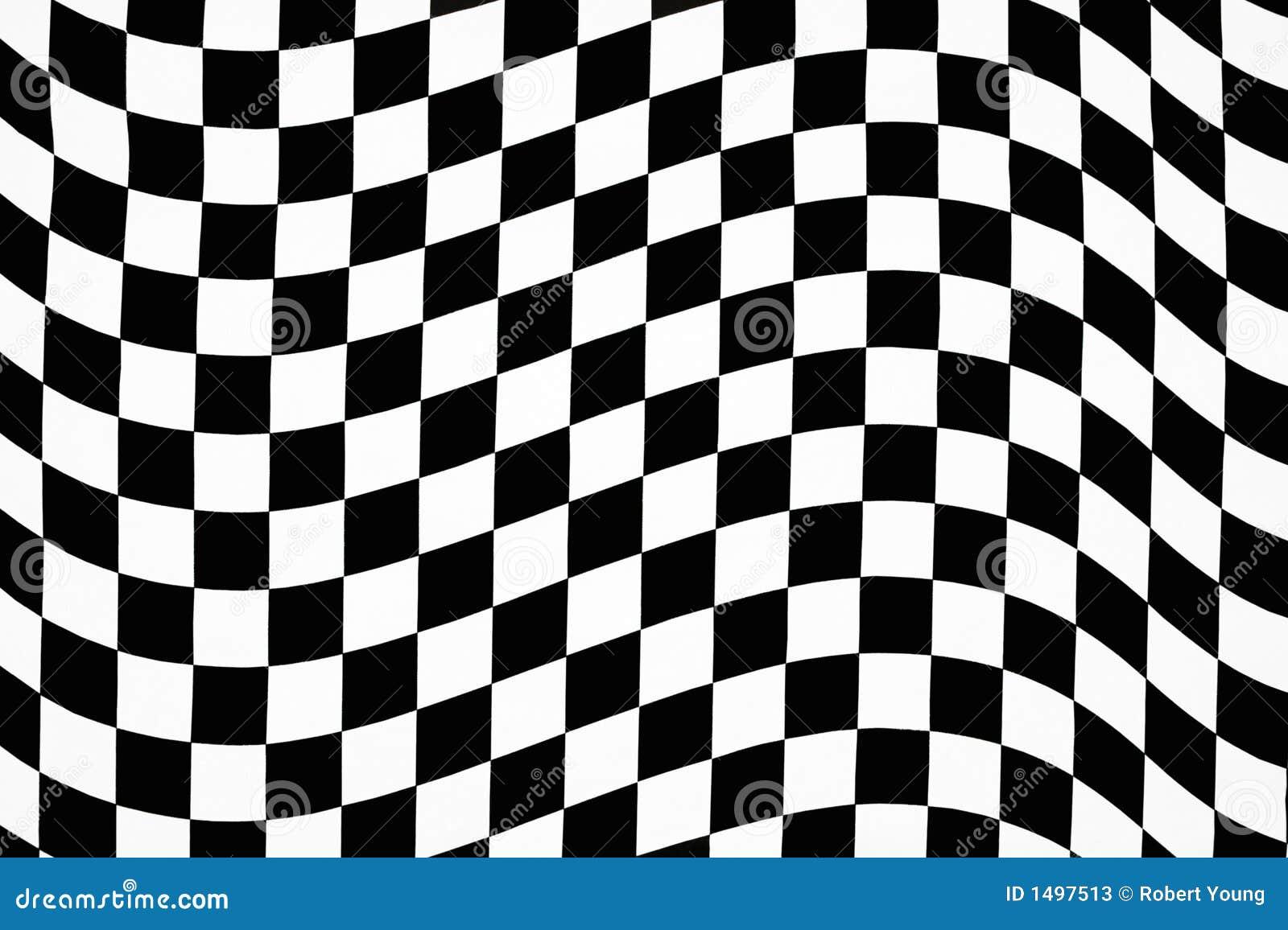 Checkered Design Wavy Checkered Pattern Stock Photos Image 1497513