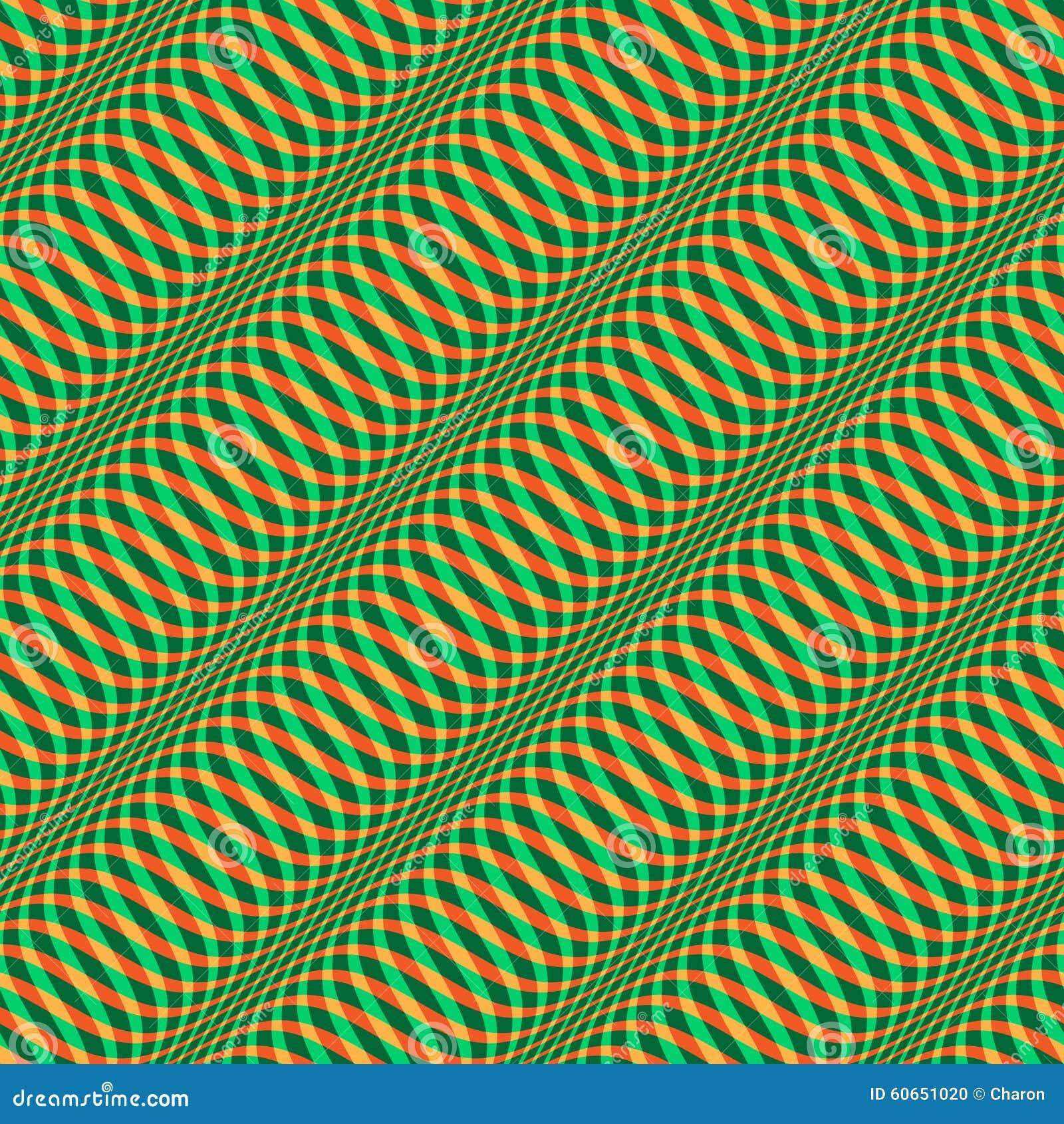 Wavy Christmas pattern seamless