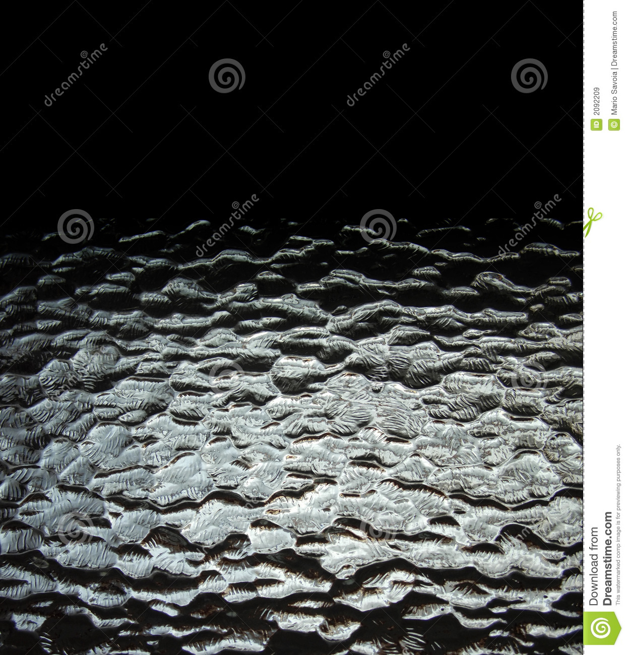wavy glass black background royalty free stock images