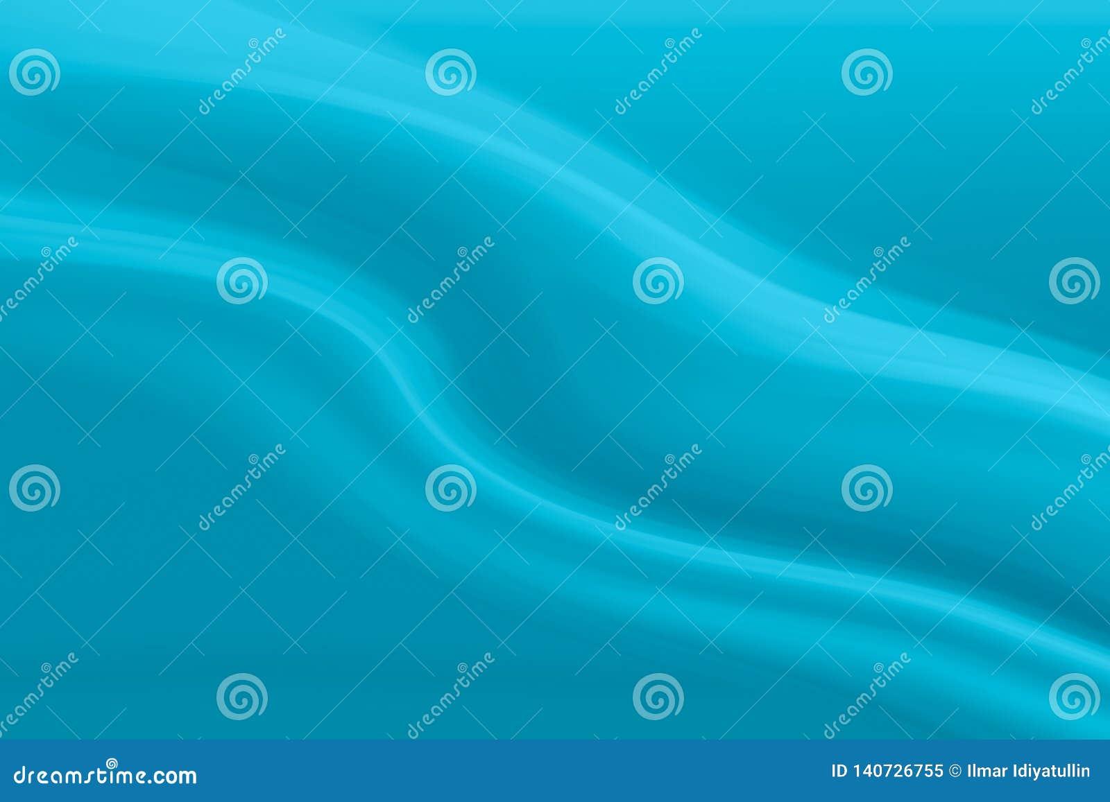 Wavy linje abstrakt bakgrundsblue