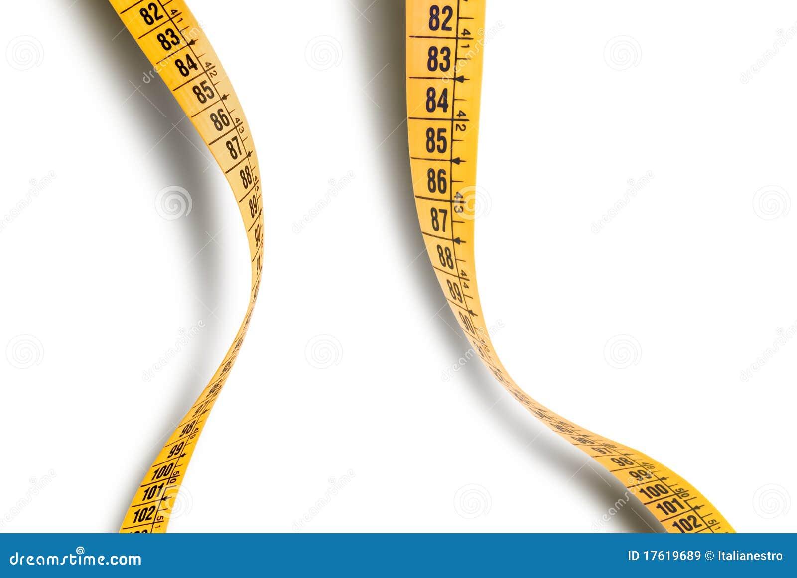 Wavy measuring tape