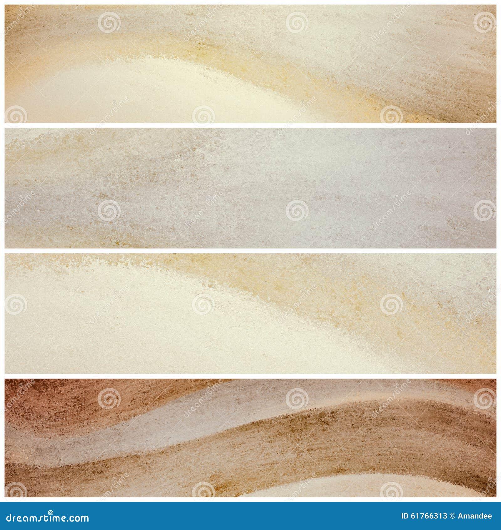 wavy natural color website banners or stripes graphic art. Black Bedroom Furniture Sets. Home Design Ideas