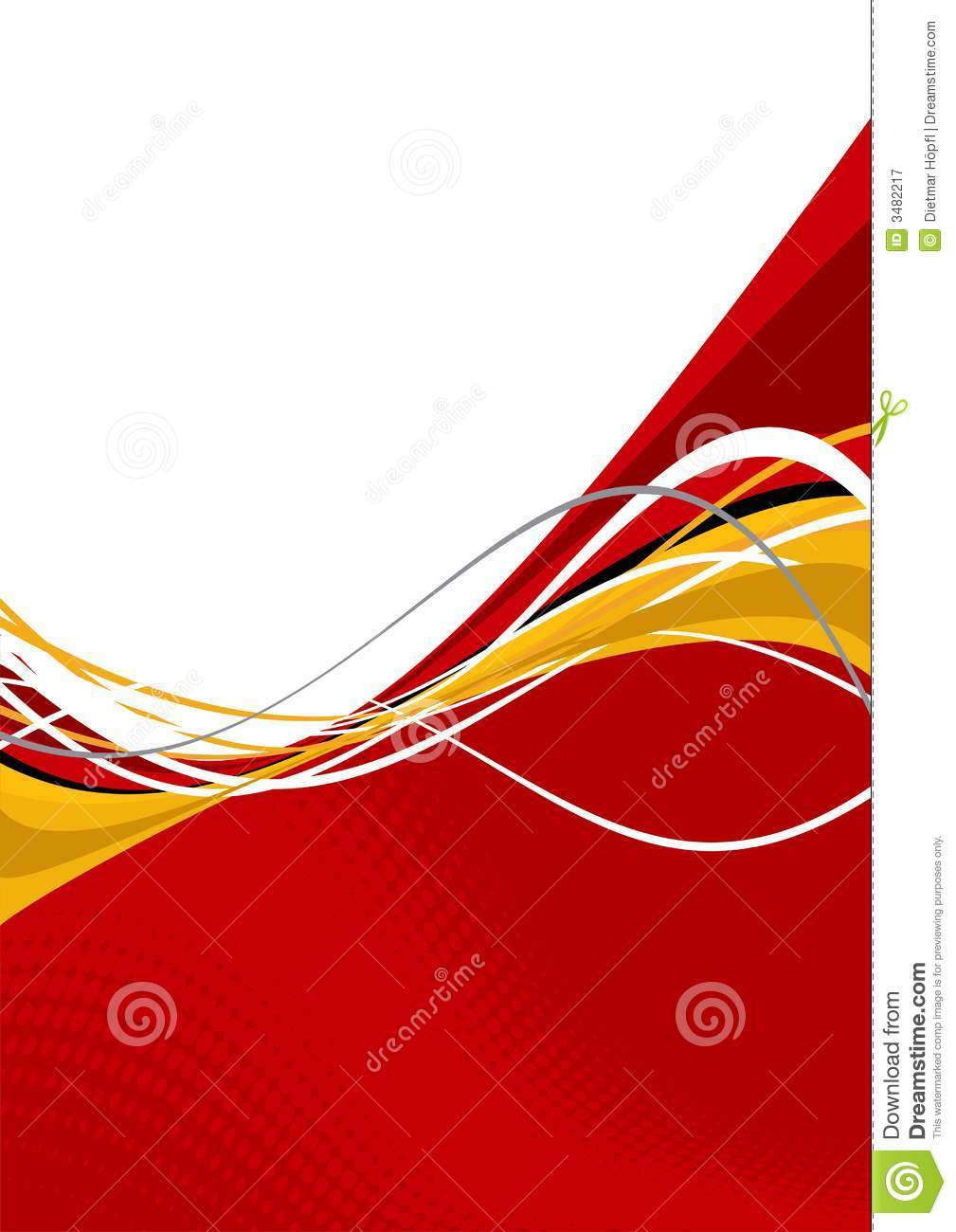 Wavy Red And White Design Royalty Free Stock Photography - Image ...