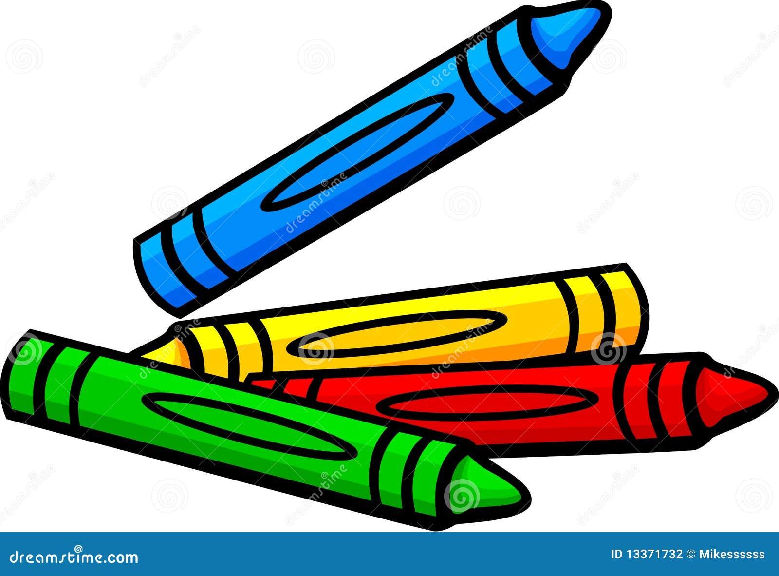 wax crayons vector illustration stock vector illustration of bunch rh dreamstime com crayon vectoriel crayola vector free for commercial use