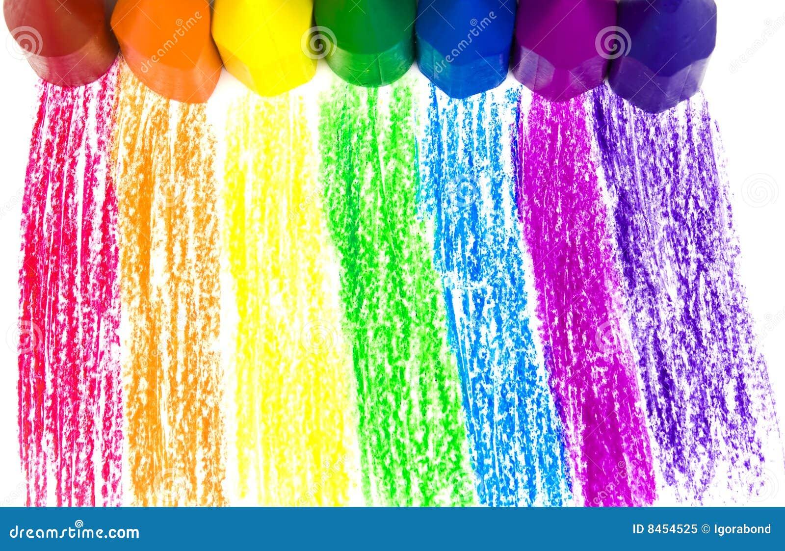 Wax för crayons sju