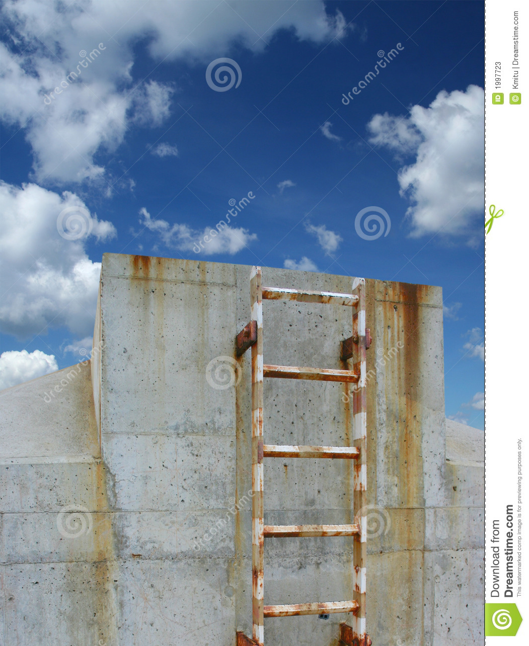 Download Way to the heaven stock image. Image of paradise, ladder - 1997723