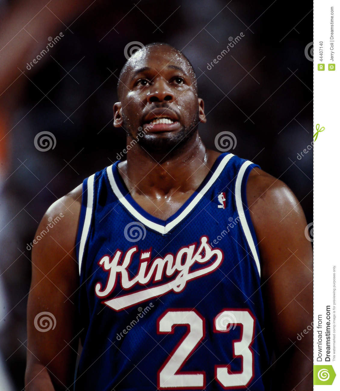 Wayman Tisdale, Sacramento Kings Editorial Image - Image of