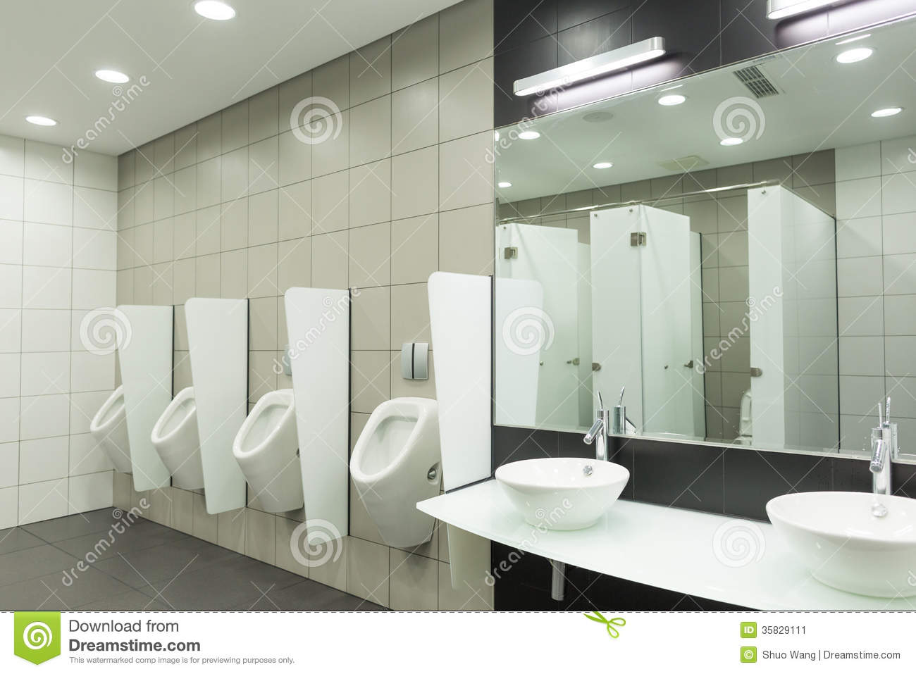 Wc for men stock image image 35829111 for Male bathroom design