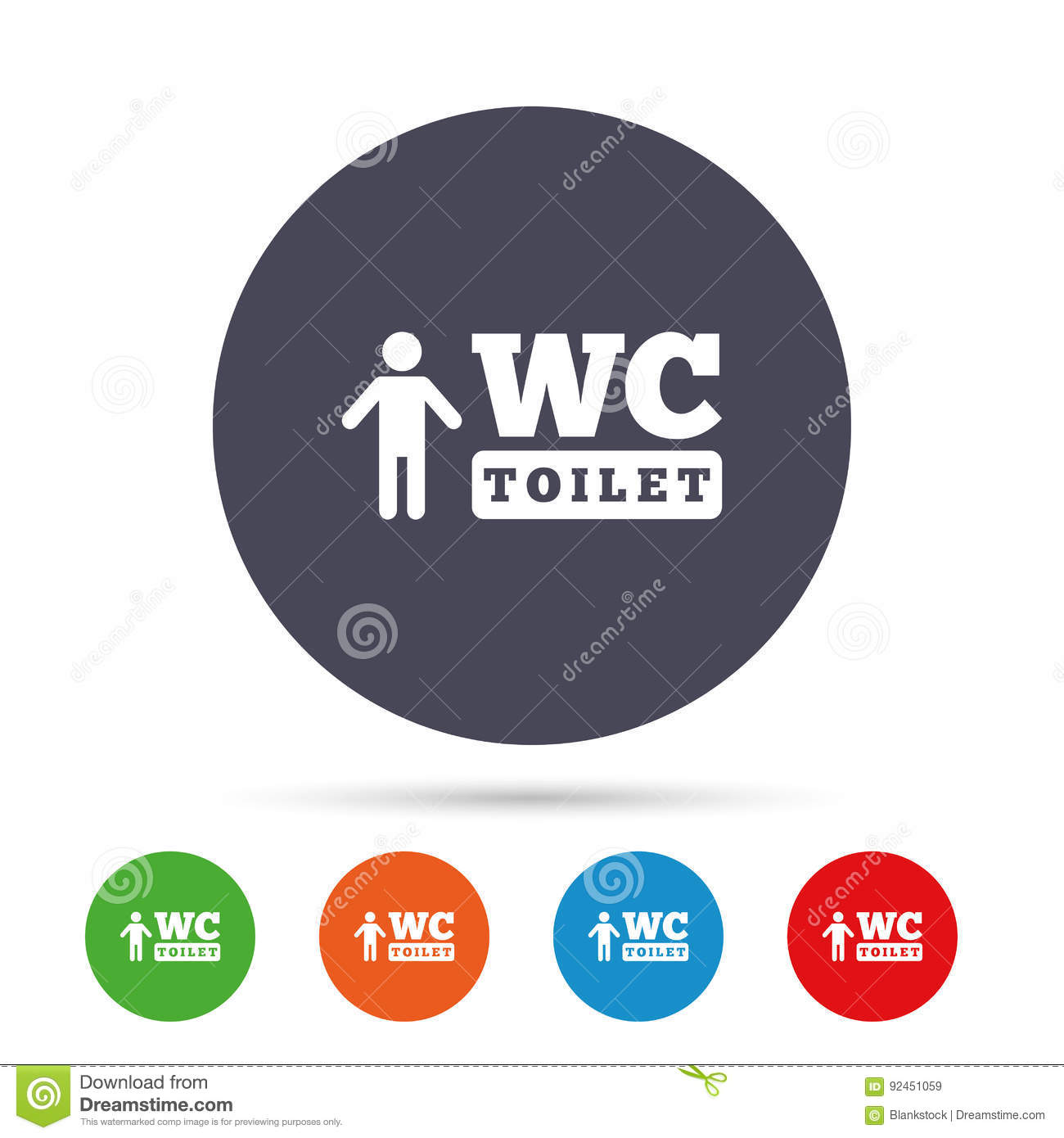 Wc men toilet sign icon restroom symbol stock vector wc men toilet sign icon restroom symbol biocorpaavc Choice Image