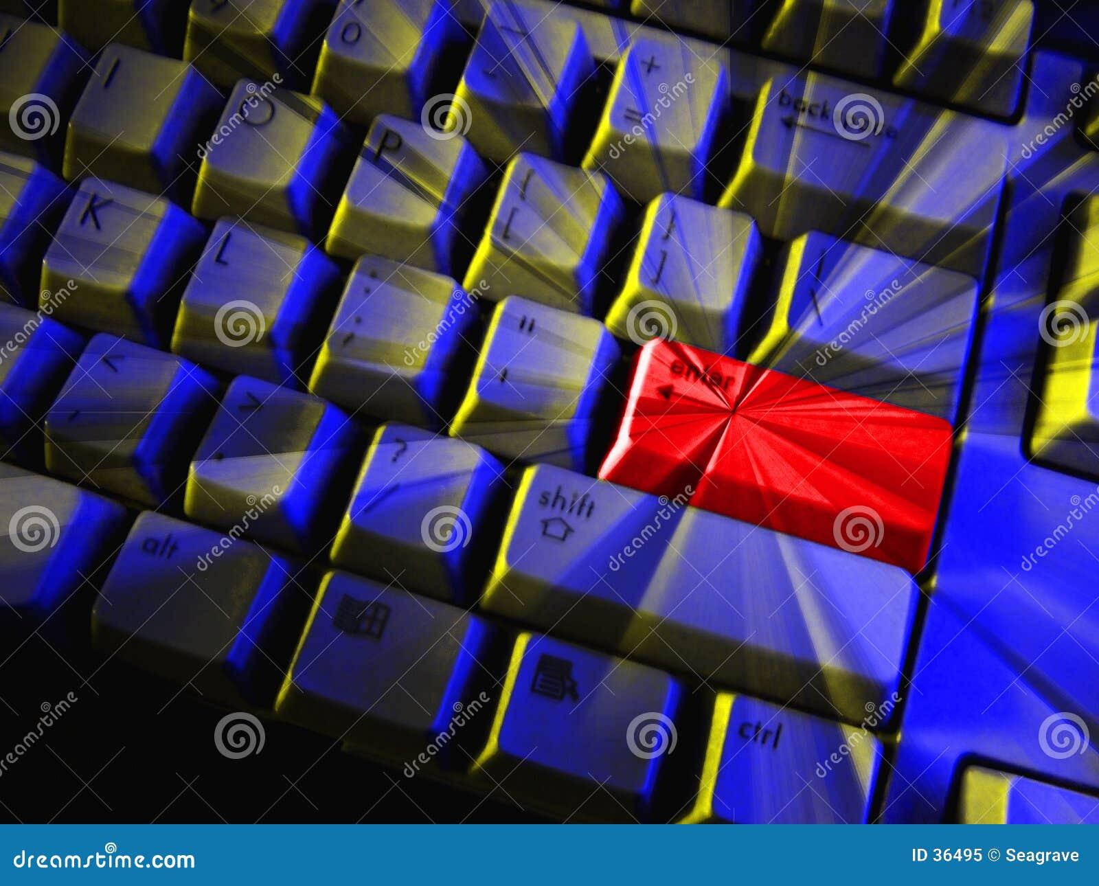 Download Wchodzi obraz stock. Obraz złożonej z klucz, komputery, klawiatura - 36495