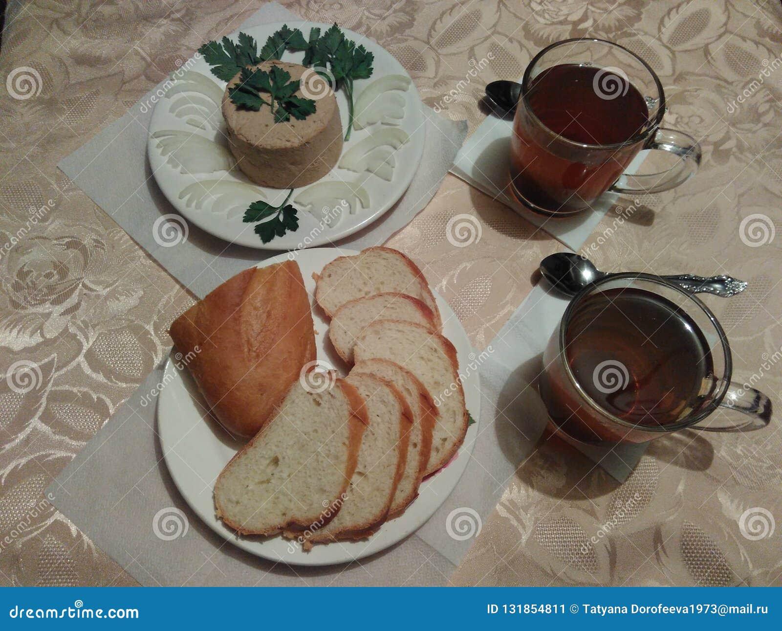 Wciąż życia chudy śniadanie