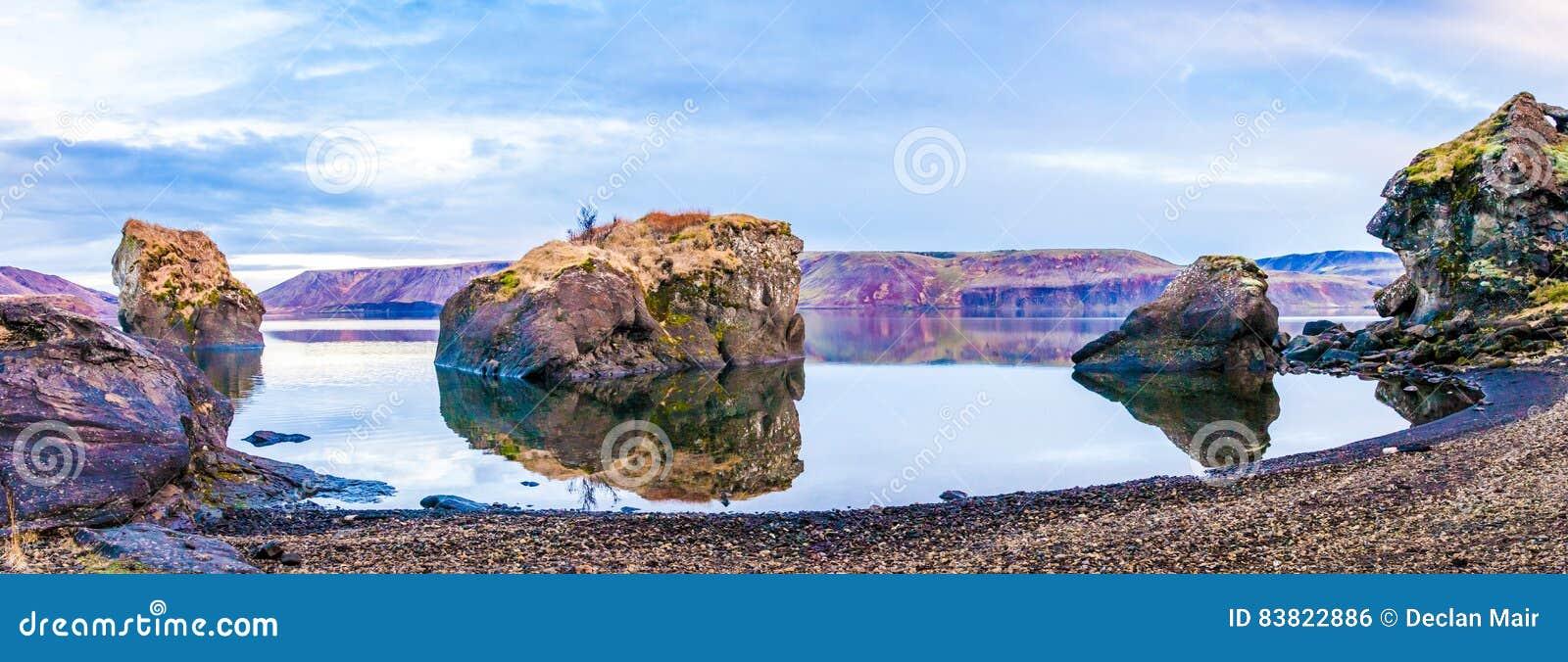 Wciąż Jeziorna panorama