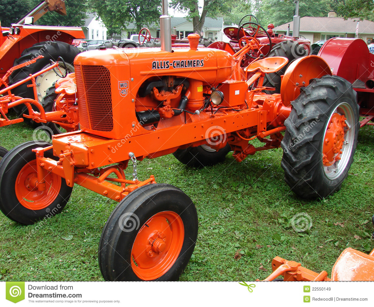 Wd 45 Allis Chalmers Tractor Download Preview