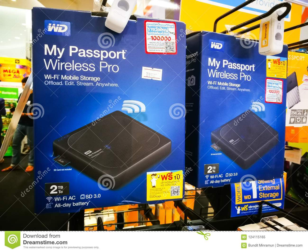 WD Western Digital My Passport Wireless Pro Portable